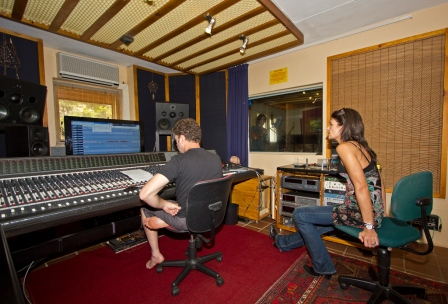@ Sunset Recording studio recording Angels & Demons